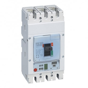 MCCB DPX³ 630 - S2 electronic release - 3P - Icu 50 kA (400 V~) - In 250 A