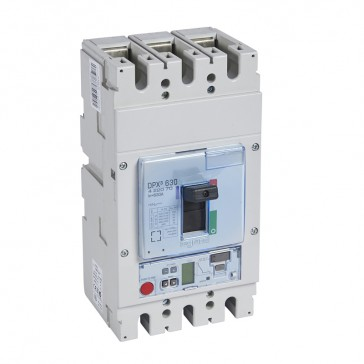 MCCB DPX³ 630 - S2 electronic release - 3P - Icu 50 kA (400 V~) - In 630 A