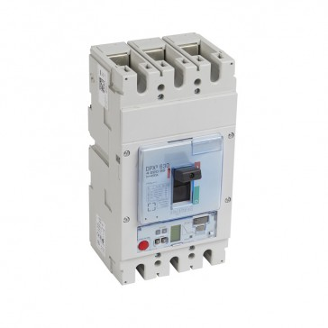 MCCB DPX³ 630 - S2 elec release + central - 3P - Icu 36 kA (400 V~) - In 400 A