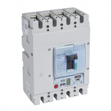 MCCB DPX³ 630 - S2 elec release + central - 4P - Icu 36 kA (400 V~) - In 630 A