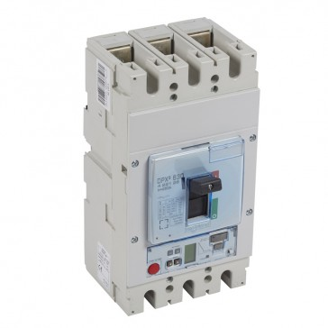 MCCB DPX³ 630 - S2 elec release + central - 3P - Icu 100 kA (400 V~) - In 250 A