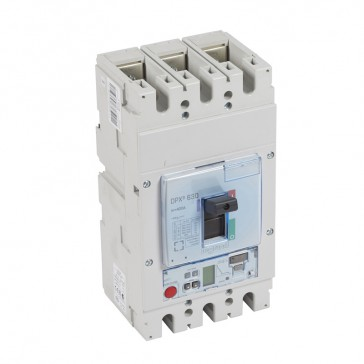 MCCB DPX³ 630 - S2 elec release + central - 3P - Icu 100 kA (400 V~) - In 400 A