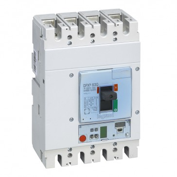 MCCB DPX³ 630 - Sg electronic release - 4P - Icu 36 kA (400 V~) - In 630 A