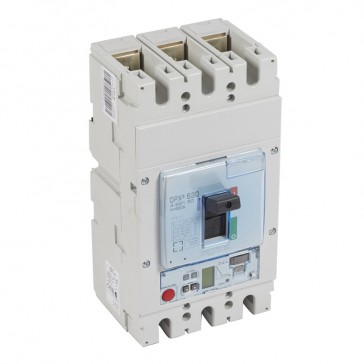 MCCB DPX³ 630 - Sg electronic release - 3P - Icu 50 kA (400 V~) - In 630 A