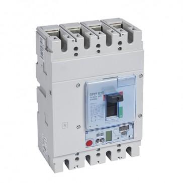 MCCB DPX³ 630 - Sg elec release + central - 4P - Icu 36 kA (400 V~) - In 630 A