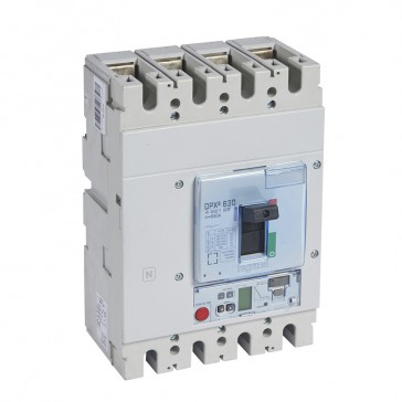 MCCB DPX³ 630 - Sg elec release + central - 4P - Icu 50 kA (400 V~) - In 630 A
