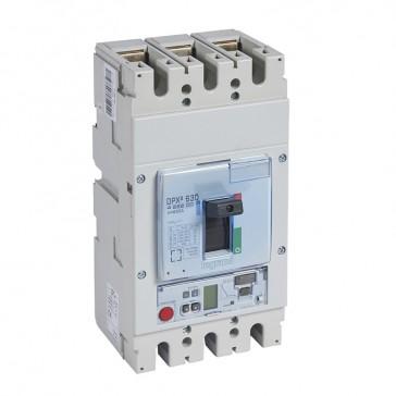 MCCB DPX³ 630 - Sg elec release + central - 3P - Icu 70 kA (400 V~) - In 630 A