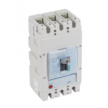 DPX³-I 630 - trip-free switches - 3P - In 400 A