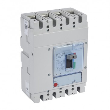 DPX³-I 630 - trip-free switches - 4P - In 630 A