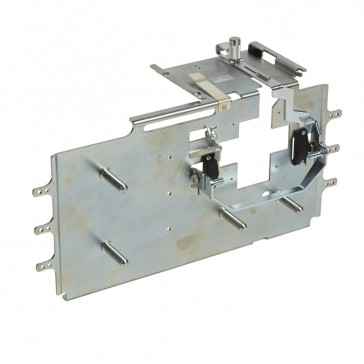 Debro-lift mechanism - 4P - For DPX³ base only - with earth leakage modules