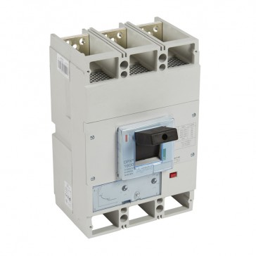 MCCB DPX³ 1600 - thermal magnetic release - 3P - Icu 36 kA (400 V~) - In 630 A