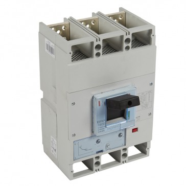 MCCB DPX³ 1600 - thermal magnetic release - 3P - Icu 36 kA (400 V~) - In 800 A
