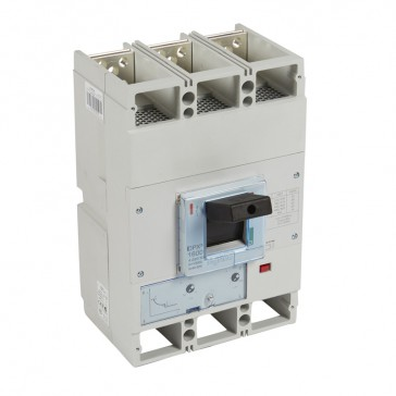 MCCB DPX³ 1600 - thermal magnetic release - 3P - Icu 36 kA (400 V~) - In 1000 A