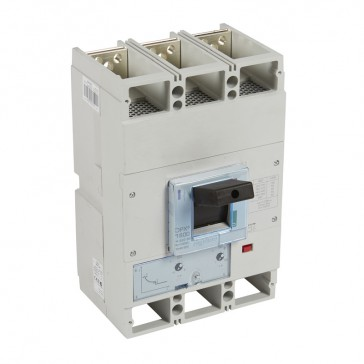 MCCB DPX³ 1600 - thermal magnetic release - 3P - Icu 50 kA (400 V~) - In 1000 A