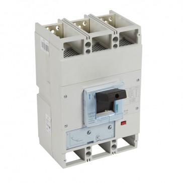 MCCB DPX³ 1600 - thermal magnetic release - 3P - Icu 70 kA (400 V~) - In 800 A