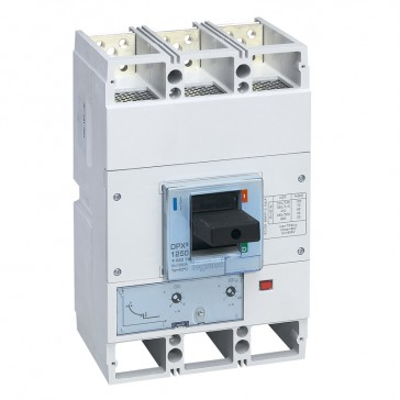 MCCB DPX³ 1600 - thermal magnetic release - 3P - Icu 70 kA (400 V~) - In 1250 A