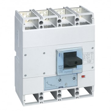 MCCB DPX³ 1600 - thermal magnetic release - 4P - Icu 70 kA (400 V~) - In 1250 A