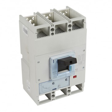 MCCB DPX³ 1600 - thermal magnetic release - 3P - Icu 100 kA (400 V~) - In 1000 A