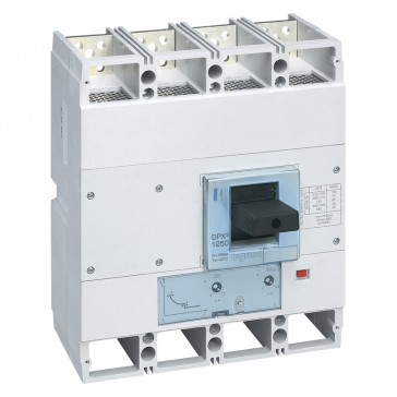 MCCB DPX³ 1600 - thermal magnetic release - 4P - Icu 100 kA (400 V~) - In 1250 A