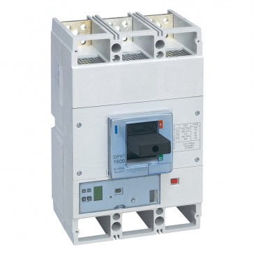 MCCB DPX³ 1600 - S2 electronic release - 3P - Icu 50 kA (400 V~) - In 1600 A