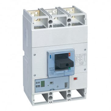 MCCB DPX³ 1600 - S2 electronic release - 3P - Icu 70 kA (400 V~) - In 1600 A