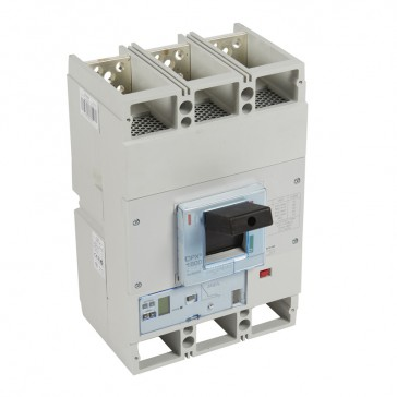 MCCB DPX³ 1600 - S2 elec release + central - 3P - Icu 100 kA (400 V~) - In 800 A