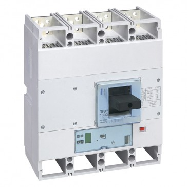 MCCB DPX³ 1600 - S2 elec release +central - 4P - Icu 100 kA (400 V~) - In 1250 A