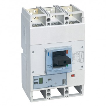 MCCB DPX³ 1600 - Sg elec release + central - 3P - Icu 36 kA (400 V~) - In 800 A