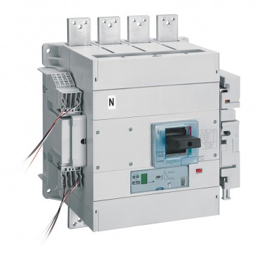 MCCB DPX³ 1600 - Sg elec release +central - 4P - Icu 36 kA (400 V~) - In 1600 A