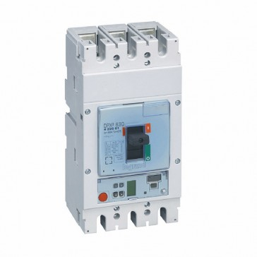 MCCB DPX³ 630 - S1 electronic release - 3P - Icu 36 kA (400 V~) - In 500 A