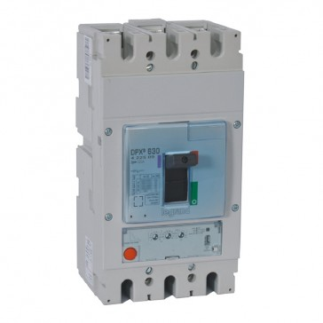 MCCB DPX³ 630 - S1 electronic release - 3P - Icu 50 kA (400 V~) - In 320 A