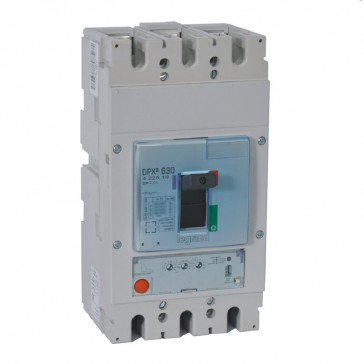MCCB DPX³ 630 - S1 electronic release - 3P - Icu 50 kA (400 V~) - In 400 A