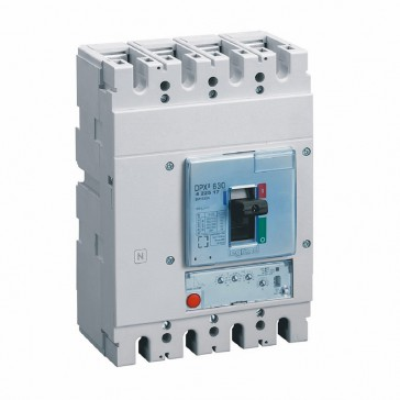 MCCB DPX³ 630 - S1 electronic release - 4P - Icu 50 kA (400 V~) - In 630 A
