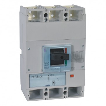 MCCB DPX³ 1600 - S1 electronic release - 3P - Icu 36 kA (400 V~) - In 800 A