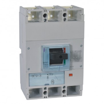 MCCB DPX³ 1600 - S1 electronic release - 3P - Icu 36 kA (400 V~) - In 1250 A