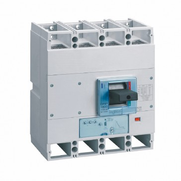 MCCB DPX³ 1600 - S1 electronic release - 4P - Icu 36 kA (400 V~) - In 1250 A