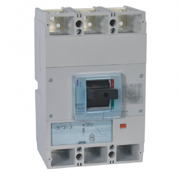MCCB DPX³ 1600 - S1 electronic release - 3P - Icu 50 kA (400 V~) - In 800 A