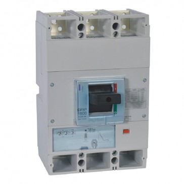 MCCB DPX³ 1600 - S1 electronic release - 3P - Icu 50 kA (400 V~) - In 1600 A