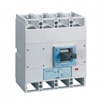 MCCB DPX³ 1600 - S1 electronic release - 4P - Icu 50 kA (400 V~) - In 630 A