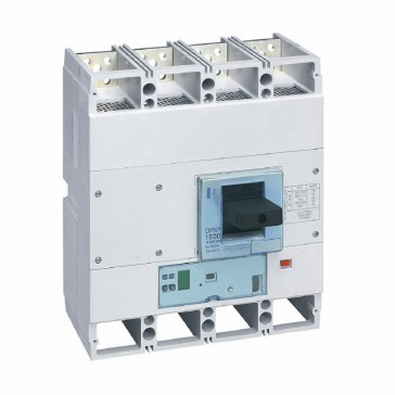 MCCB DPX³ 1600 - S1 electronic release - 4P - Icu 70 kA (400 V~) - In 630 A