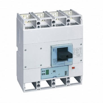 MCCB DPX³ 1600 - S1 electronic release - 4P - Icu 70 kA (400 V~) - In 1000 A