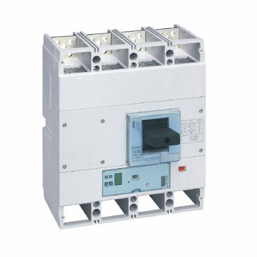 MCCB DPX³ 1600 - S1 electronic release - 4P - Icu 70 kA (400 V~) - In 1600 A