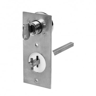 Safety simple key lock device for DCX-M between 40 A and 160 A