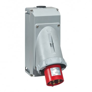 Appliance inlet P17 Pro - IP66/67 - 200/250 V~ - 63 A - 3P+N+E