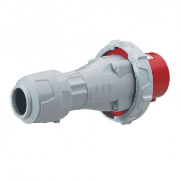 Straight plug P17 Pro - IP66/67 - 380/415 V~ - 63 A - 3P+E