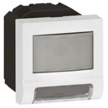 Skirting light Arteor - with motion detector - 2 modules - white