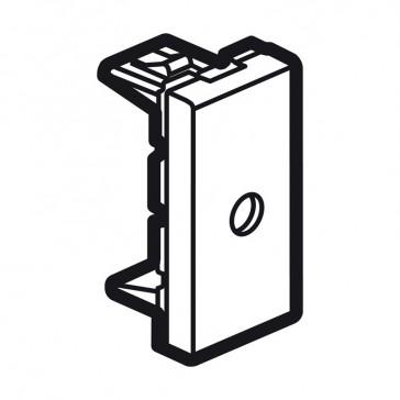 Cord outlet Arteor - Ø8 mm entry - 1 module - white
