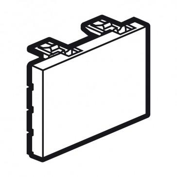 Blank modules Arteor - square - 3 modules - magnesium