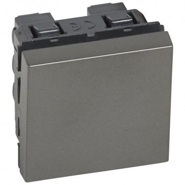 Intermediate switch Arteor - 10 AX 250 V~ - 2 modules - magnesium