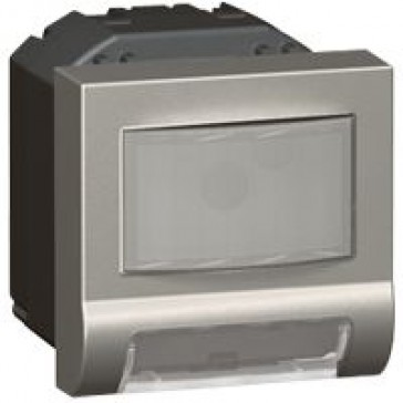 Skirting light Arteor - with motion detector - 2 modules - magnesium